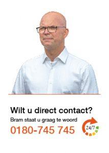 Bel voor contact 0180 - 745745